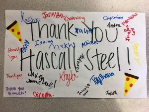 hascall steel volunteering