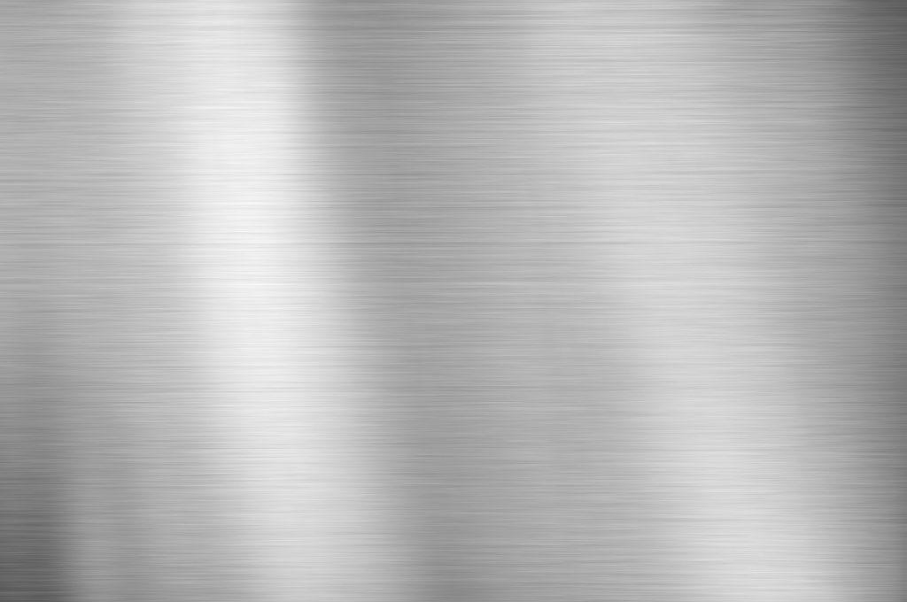 Flat silver steel